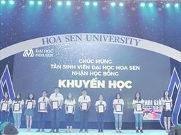 Đại học Hoa Sen đón 2.700 tân sinh viên trong năm học mới