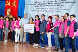"""Nu Skin Việt Nam tài trợ 460 triệu đồng cho chương trình """"Hướng về miền Trung"""""""