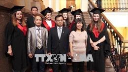 Trao bằng cao học chuyên ngành ngôn ngữ và văn học Việt Nam đầu tiên tại Ukraine