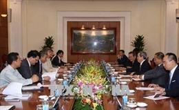 Trưởng Ban Kinh tế Trung ương tiếp Đoàn công tác Liên minh Diễn đàn doanh nghiệp VN