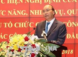 Thủ tướng: Ngành Công an cần tập trung cao cho công tác xây dựng đội ngũ cán bộ
