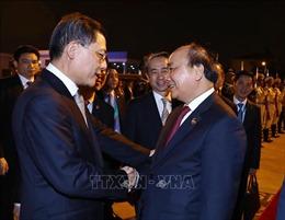 Thủ tướng kết thúc tốt đẹp chuyến tham dự Hội chợ nhập khẩu quốc tế Trung Quốc