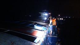 Bộ Tư lệnh Vùng Cảnh sát biển 1 tạm giữ 650 tấn than không rõ nguồn gốc