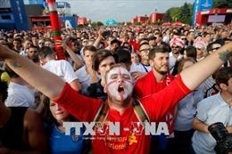 Nhiều thiệt hại xảy ra sau khi người hâm mộ Anh ăn mừng chiến thắng