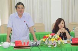 Đoàn giám sát của Ủy ban Thường vụ Quốc hội làm việc tại Cần Thơ