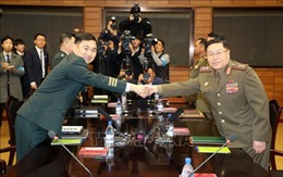 Hai miền Triều Tiên hội đàm quân sự cấp tướng