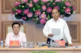 Thủ tướng dự phiên họp Hội đồng tư vấn chính sách tiền tệ quốc gia