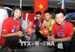 Học sinh Việt Nam tham dự giải Robot Thế giới tại Mexico