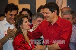 Đảng Lao động Brazil đề cử ứng cử viên liên danh tranh cử cùng cựu Tổng thống Silva