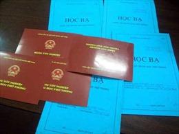 Phó Chủ tịch HĐND và Trưởng Công an xã dùng bằng tốt nghiệp THPT không hợp pháp