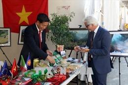 Trái ớt Việt Nam diện diện tại hội chợ ớt quốc tế ở Italy