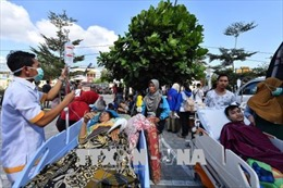 Động đất tại Indonesia: Sơ tán 900 du khách trên quần đảo gần Lombok