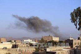 Sân bay và căn cứ quân sự ở Yemen hứng chịu nhiều đợt không kích