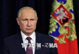 Tổng thống Nga: Các biện pháp trừng phạt của Mỹ sẽ 'phản tác dụng và vô nghĩa'