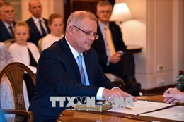 Nội các mới của tân Thủ tướng Australia Scott Morrison nhậm chức