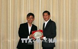 TP Hồ Chí Minh thúc đẩy hợp tác với Singapore trong xây dựng đô thị thông minh