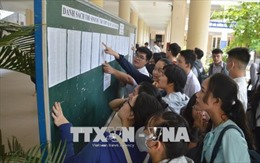 Tuyển sinh ĐH - CĐ 2018: Nhiều cơ hội cho thí sinh xét tuyển nguyện vọng bổ sung