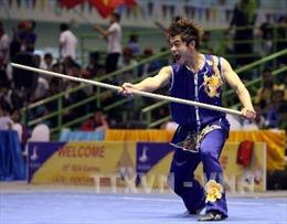 Võ sĩ Phạm Quốc Khánh có cơ hội cạnh tranh HCV môn Wushu