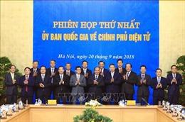 Thủ tướng Nguyễn Xuân Phúc: Thể hiện quyết tâm chính trị rất cao để triển khai Chính phủ điện tử