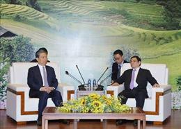 Đồng chí Phạm Minh Chính tiếp Bí thư Ủy ban Kiểm tra Kỷ luật Trung ương ĐCS Trung Quốc