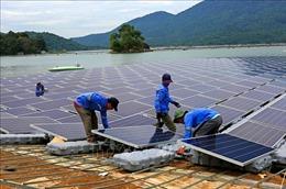 Nhà máy điện mặt trời nổi đầu tiên ở Việt Nam