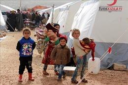 Trên 38.500 người dân tại Idlib đi lánh nạn trong hai tuần qua
