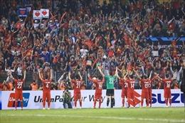 AFF Suzuki Cup 2018: Thắng thuyết phục 3 - 0, Đội tuyển Việt Nam giành vị trí nhất bảng A