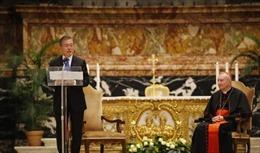 Tổng thống Hàn Quốc dự Thánh lễ vì hòa bình trên bán đảo Triều Tiên
