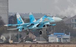 Một chiếc Su-27 của không quân Ukraine bị rơi khi bay tập huấn