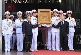 Những hình ảnh về Lễ đưa tang nguyên Tổng Bí thư Đỗ Mười