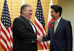 Nhật-Mỹ nhất trí thảo luận về chuyến thăm Triều Tiên của Ngoại trưởng Pompeo