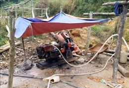 Ngổn ngang hầm lò đào vàng trái phép tại Sa Pa, Lào Cai