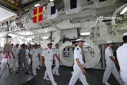 ASEAN, Trung Quốc kết thúc tập trận quân sự hàng hải chung