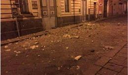 Đảo Sicily, Italy động đất mạnh, nhiều toà nhà gần núi lửa đang hoạt động hư hỏng nặng