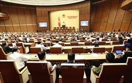 Thông cáo số 6 Kỳ họp thứ 6, Quốc hội khóa XIV