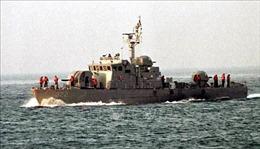 Hơn 30 tùy viên quốc phòng nước ngoài thăm biên giới trên biển giữa hai miền Triều Tiên