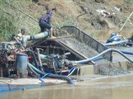 Lâm Đồng đề nghị phối hợp xử lý tình trạng khai thác cát trái phép