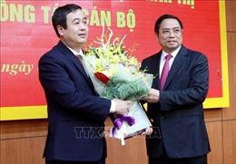 Trao quyết định ông Ngô Đông Hải làm Phó Bí thư Thường trực Tỉnh ủy Thái Bình