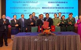 Tăng cường hợp tác quốc phòng - an ninh biên giới Quảng Bình - Khăm Muộn