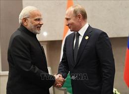 Lãnh đạo Nga - Ấn ra tuyên bố chunghướng đến đỉnh cao hợp tác mới