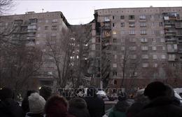 Rất khó tìm kiếm nạn nhân vụ sập chung cư tại Nga trong cái lạnh - 22 độ  C