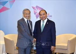 Thủ tướng Nguyễn Xuân Phúc hội kiến Quốc vương Brunei và Thủ tướng Malaysia
