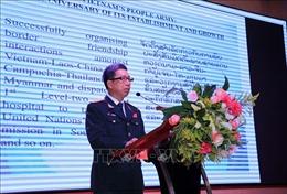Kỷ niệm trọng thể 74 năm Ngày thành lập Quân đội Nhân dân Việt Nam tại Lào