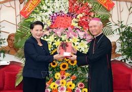 Chủ tịch Quốc hội chúc mừng Giáng sinh tại Giáo phận Xuân Lộc, Đồng Nai