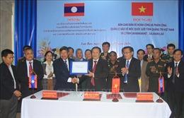 Thống nhất quản lý, bảo vệ mốc quốc giới Việt - Lào