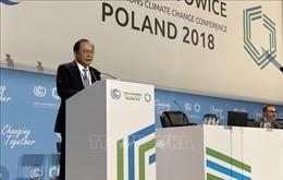Việt Nam kêu gọi hài hòa lợi ích trong ứng phó biến đổi khí hậu