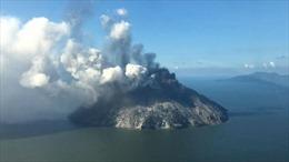 Núi lửa mạnh nhất Papua New Guinea phun trào