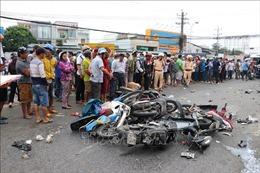 Khởi tố vụ án, tạm giữ hình sự lái xe đầu kéo gây tai nạn thảm khốc ở Long An