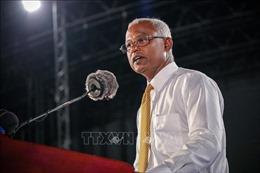 Ứng cử viên đối lập bất ngờ giành chiến thắng trong cuộc bầu cử tổng thống Maldives