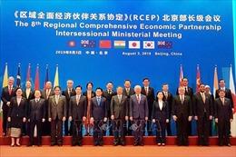 Đàm phán về hiệp định RCEP được nối lại Trung Quốc